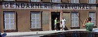 """Europe/Provence-Alpes-Côte d'Azur/83/Var/Saint-Tropez: La Gendarmerie nationale célèbre depuis le film """"Le Gendarme de Saint-Tropez"""""""