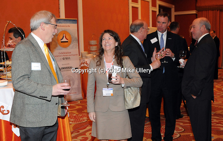 National Aviation Hall of Fame at the 2015 NBAA Convention in Las Vegas, NV on November 16, 2015. NAHF private reception at the Wynn Resort.