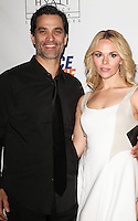 CENTURY CITY, CA, USA - MAY 02: Johnathon Schaech, Julie Solomon at the 21st Annual Race To Erase MS Gala held at the Hyatt Regency Century Plaza on May 2, 2014 in Century City, California, United States. (Photo by Celebrity Monitor)