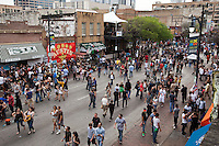 The South by Southwest Experience can be felt by partying on 6th Street in downtown, Austin, Texas