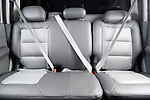 Rear back seats of a 2005 Ford Explorer Sport Trac