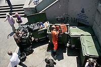 Refuse in Eminonu, Istanbul, Turkey