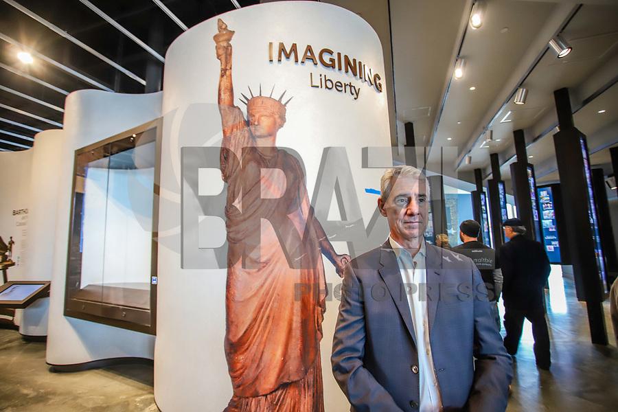 Nova York (EUA), 14/05/2019 - Cultura / Eua / Museu Estatua Liberdade - Movimentação no Museu da Estatua da Liberdade que será inaugurado no próximo dia 16 em Nova York nos Estados Unidos. (Foto: Vanessa Carvalho/Brazil Photo Press)