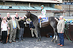 2011 04 09: J J's Lucky Train and Jose Ferrer winners circle the Grade 3 Bay Shore at 7 furlongs at Aqueduct Racetrack. Trainer William Anderson. Owner Fresh Start Stables
