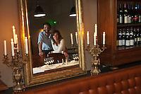 Europe/France/Aquitaine/33/Gironde/Bassin d'Arcachon/Arcachon:  Hôtel Ville d' Hiver situé dans l'ancien batiment de la Compagnie Générales des Eaux de 1884 - Olivier  et Nathalène Arnaud