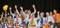 19-9-08, Netherlands, Apeldoorn, Tennis, Daviscup NL-Zuid Korea, First rubber  Dutch supporters