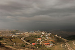 Judea, Gush Etzion. A view of settlement Bat Ayin established in 1989