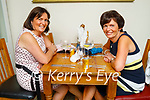 Enjoying the evening in Bella Bia on Saturday, l to r: Kit Cronin and Delia Daly from Tralee.