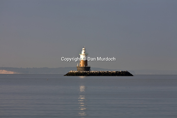 Greens Ledge lighthouse in Norwalk, CT