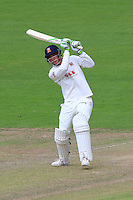 Daniel Lawrence hits six runs for Essex during Glamorgan CCC vs Essex CCC, Specsavers County Championship Division 2 Cricket at the SSE SWALEC Stadium on 23rd May 2016