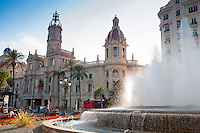 Exploring the Spanish city of Valencia by bicycle.