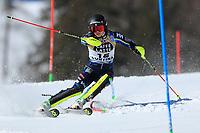 20th February 2021; Cortina d'Ampezzo, Italy; FIS Alpine World Ski Championships, Women's Slalom   Emelie Wikstroem (SWE)