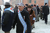 Gedenkfeier zum 69. Jahrestag der Befreiung des KZ Auschwitz-Birkenau - ehemalige Häftlinge