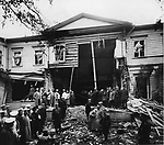 Villa Peter Stolypin after the explosion. St. Petersburg. April 12, 1906. / Дача Петра Столыпина после взрыва. Санкт-Петербург. 12 апреля 1906.