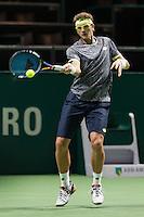 ABN AMRO World Tennis Tournament, Rotterdam, The Netherlands, 13 februari, 2017, Denis Istomin (UZB)<br /> Photo: Henk Koster