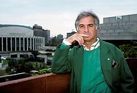 FILE PHOTO - French actor Jean-Claude Brialy in 1988Photo exclusive de l'acteur francais<br /> Jean-Claude Brialy, le 17 juillet 1988<br /> <br /> <br /> PHOTO :  Agence Quebec Presse