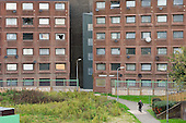 Block scheduled for demolition on the Stonebridge Estate, in the London Borough of Brent. The estate is managed by the Stonebridge Housing Action Trust (HAT).