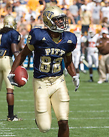 August 30, 2008: Pitt wide receiver Jonathan Baldwin..The Bowling Green Falcons defeated the Pitt Panthers 27-17 on August 30, 2008 at Heinz Field, Pittsburgh, Pennsylvania.