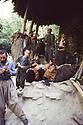Iran 1981.A family at home in a Kurdish village