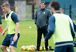 St Johnstone Training…07.09.17<br />Manager Tommy Wright pictured during training at McDiarmid Park ahead of the home game against Hibs<br />Picture by Graeme Hart.<br />Copyright Perthshire Picture Agency<br />Tel: 01738 623350  Mobile: 07990 594431