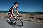 Lawson Craddock Team Giant-Alpecin on a training ride days before the Santos Tour Down-Under 2015 in Adelaide, Australia. 16th January 2015.<br /> Photo: Wessel van Keuk/Cor Vos/www.newsfile.ie