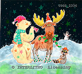 GIORDANO, CHRISTMAS ANIMALS, WEIHNACHTEN TIERE, NAVIDAD ANIMALES, paintings+++++,USGI2336,#XA# reindeers