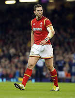 George North of Wales during the RBS 6 Nations Championship rugby game between Wales and Scotland at the Principality Stadium, Cardiff, Wales, UK Saturday 13 February 2016