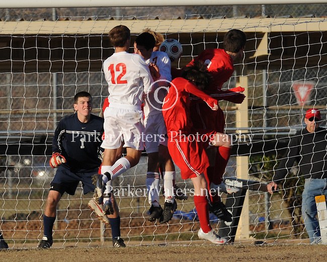 Soccer highlights between the 1A St.Martin's Episcopal Saints and 5A Rummel Raiders played on the Rummel soccer field.  The two teams battled to a 0-0 tie and pitted a number of players who play together on various Lafreniere teams.