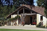 Europe/France/Aquitaine/40/Landes/Env de Villeneuve-de-Marsan/Arthez-d'Armagnac: Vieilles fermes typiques