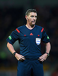 St Johnstone v Aberdeen…22.04.16  McDiarmid Park, Perth<br />Referee Craig Thomson<br />Picture by Graeme Hart.<br />Copyright Perthshire Picture Agency<br />Tel: 01738 623350  Mobile: 07990 594431