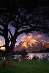 Mountain Refuge, Torres Del Paine National Park, Chile.