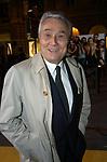 ALBERTO ARBASINO<br /> INAUGURAZIONE PALAZZO FENDI ROMA 2005