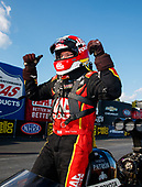 NHRA Mello Yello Drag Racing Series<br /> NHRA Carolina Nationals<br /> zMAX Dragway, Concord, NC USA<br /> Sunday 16 September 2017 Doug Kalitta, Mac Tools, top fuel dragster, victory, celebration<br /> <br /> World Copyright: Mark Rebilas<br /> Rebilas Photo