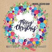 Sandra, CHRISTMAS SYMBOLS, WEIHNACHTEN SYMBOLE, NAVIDAD SÍMBOLOS, paintings+++++,GBSSXM1C8X8,#xx# ,wreath