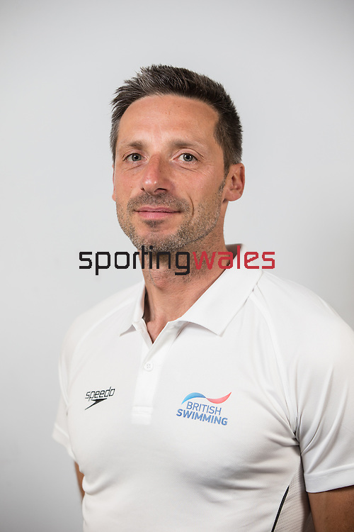 Team GB Rio Olympics marathon swimming team.<br /> Bernie Dietzig<br /> Wales National Swimming Pool<br /> 26.07.16<br /> ©Steve Pope Sportingwales
