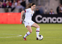 HOUSTON, TX - JANUARY 31: Andi Sullivan #6 of the United States dribbles during a game between Panama and USWNT at BBVA Stadium on January 31, 2020 in Houston, Texas.
