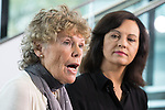 © Joel Goodman - 07973 332324 . 26/09/2016 . Liverpool , UK . KATE HOEY and CAROLINE FLINT at the conference . The second day of the Labour Party Conference at the ACC Liverpool . Photo credit : Joel Goodman