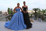 78th Venice Film Festival  at the Lido in Venice, Italy on September 7, 2021. Celebrity Sightings, (L-R) Patricia Contreras, Hofit Golan