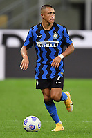 Alexis Sanchez of FC Internazionale in action during the Serie A football match between FC Internazionale and ACF Fiorentina at stadio San Siro in Milano (Italy), September 26th, 2020. Photo Andrea Staccioli / Insidefoto