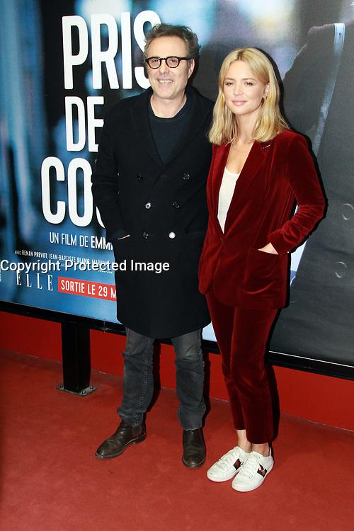 Gilbert Melki, Virginie Efira - Avant-premiËre du film 'Pris de Court' ‡ Paris, le 23/03/2017.