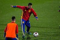 Spainsh Sergio Busquets during the training of the spanish national football team in the city of football of Las Rozas in Madrid, Spain. November 08, 2016. (ALTERPHOTOS/Rodrigo Jimenez) ///NORTEPHOTO.COM