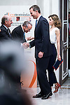 King Felipe VI and Queen Letizia during lunch commemorative twentieth anniversary of El Economista at Hotel VillaMagna in Madrid. June 08, 2016. (ALTERPHOTOS/BorjaB.Hojas)