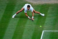 Novak Djokovic (Ser)<br /> London 09/07/2021 Wimbledon <br /> Tennis Grande Slam 2021<br /> Photo Antonie Couvercelle / Panoramic / Insidefoto <br /> ITALY ONLY