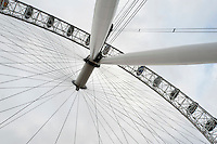 Detail of the London Eye at the launch of Rugby World Cup England 2015- 15/09/2015 - London Eye - London <br /> Mandatory Credit: Rob Munro/Stewart Communications