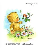 GIORDANO, CUTE ANIMALS, LUSTIGE TIERE, ANIMALITOS DIVERTIDOS, Teddies, paintings+++++,USGI2254,#AC# teddy bears