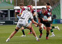 20th March 2021; Twickenham Stoop, London, England; English Premiership Rugby, Harlequins versus Gloucester; Harlequins, Gloucester; Wilco Louw of Harlequins taking the ball forward in attack