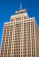 San Antonio:  Alamo National Bank.  Photo '80.