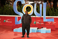 """British director, screenwriter, film producer and visual artist Steve McQueen poses on the red carpet for the screening of the film """"Soul"""" during the 15th Rome Film Festival (Festa del Cinema di Roma) at the Auditorium Parco della Musica in Rome on October 15, 2020.<br /> UPDATE IMAGES PRESS"""
