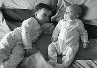 """COPY BY TOM BEDFORD<br /> Pictured: Pearl Black (L) with her younger brother<br /> Re: The funeral of a toddler who died after a parked Range Rover's brakes failed and it hit a garden wall which fell on top of her will be held today at Merthyr Tydfil.<br /> One year old Pearl Melody Black and her eight-month-old brother were taken to hospital after the incident in south Wales.<br /> Pearl's family, father Paul who is The Voice contestant and mum Gemma have said she was """"as bright as the stars""""."""