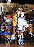 Texas-Arlington Mavericks guard Bradley Gay (10) in action during the game between the McNeese State Cowboys and the UTA Mavericks held at the University of Texas at Arlington's, Texas Hall, in Arlington, Texas.  McNeese State defeats UTA 81 to 72.